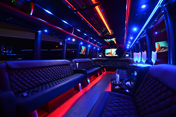 40 Person Party Bus Rental Santa Ana