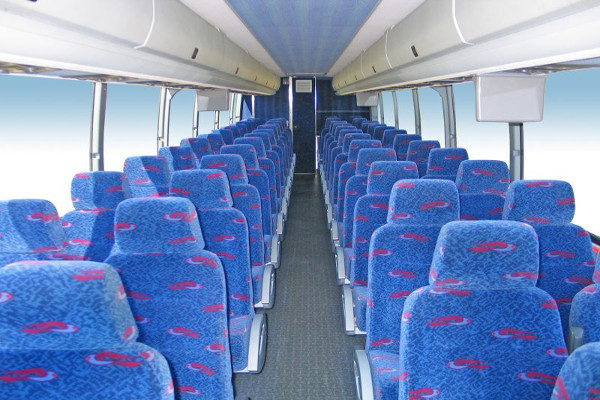 50 Person Charter Bus Rental Santa Ana