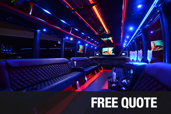 Party Buses For Rental Santa Ana